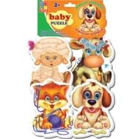 Мягкие пазлы Baby puzzle Домашние любимцы